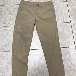 Men's Lululemon Commission pants 32 x 26